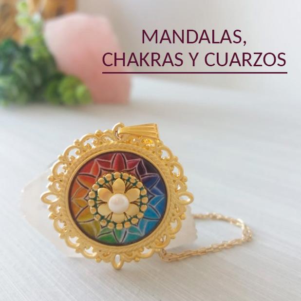 Mandalas, Chakras y cuarzos